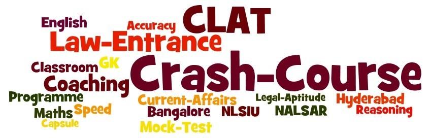 Clat Crash Course 2018|Clat Exam 2018